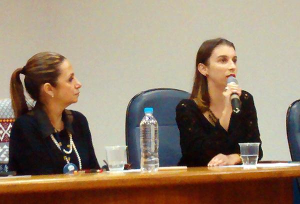 Foto das representantes da PRODEGESP